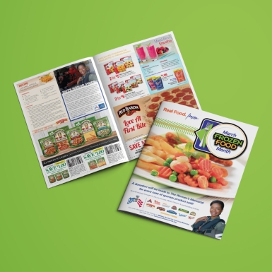 Frozen Food Month 2015 Sale Circular