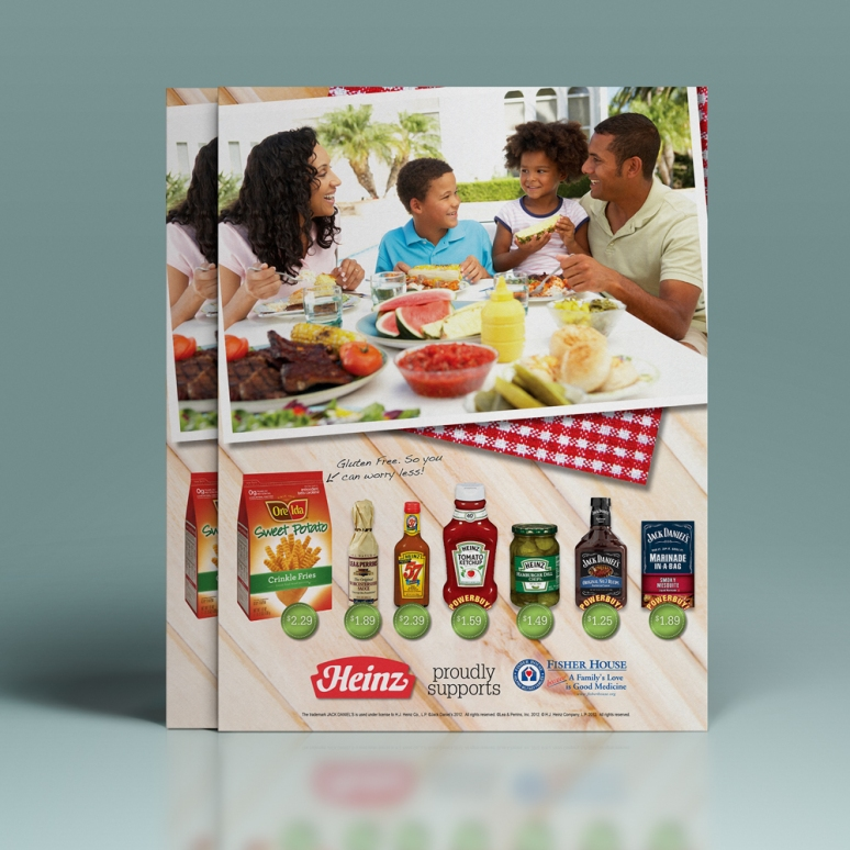 Full Page Advertisement for Heinz