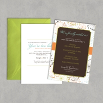 Double Sided Housewarming Invitation