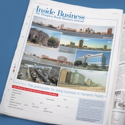 Full Page Subscription Ad for Inside Business