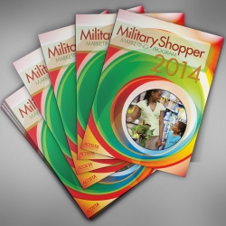 Cover for 2014 Military Shopper Marketing Program and Accompanying Folder