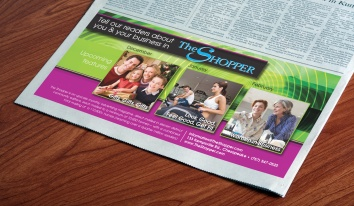Feature Advertisement for The Shopper