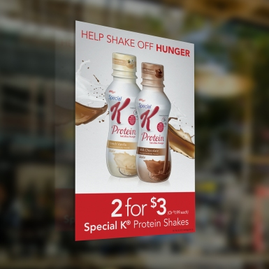 Special K Window Cling