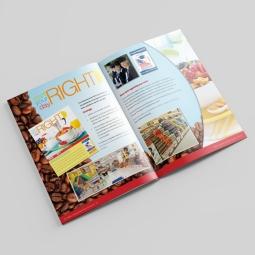 Start Your Day Right Spread in 2012 Acosta Military Shopper Marketing Program
