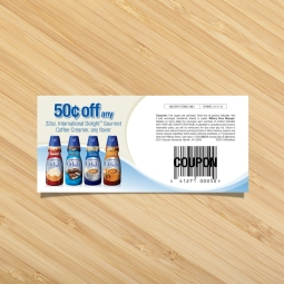 International Delight Coupon - One of a series of annual coupons I created for WhiteWave Foods