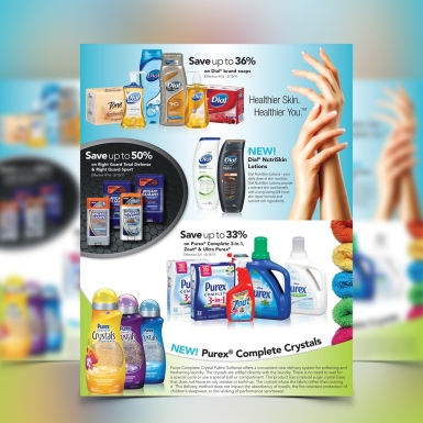 Full Page Advertisement for Procter & Gamble