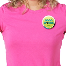 Good Works Button for World Pet Association