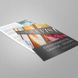 Aesthetics, Inc. - Environmental Graphic Design Slick Sheet